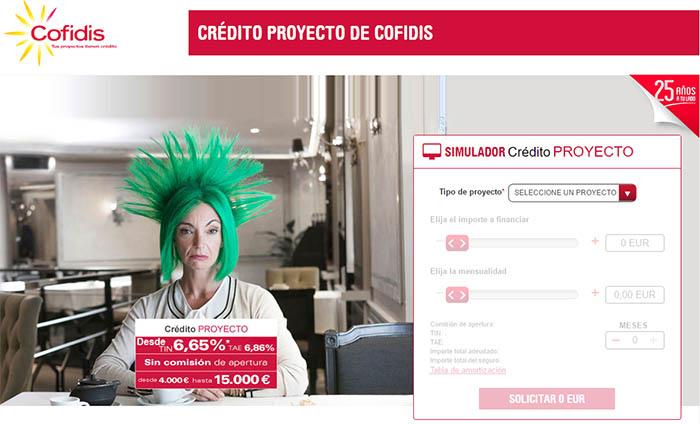 Cofidis credit online